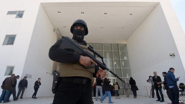An ninh đã được tăng cường sau vụ tấn công khủng bố tại Tunis (Ảnh: AFP)