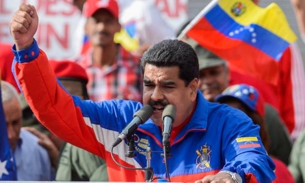 Tổng thống Venezuela Nicolas Maduro (Ảnh: