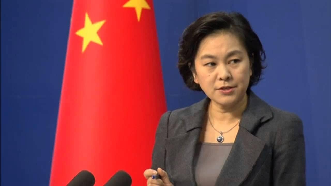 Phát ngôn Bộ ngoại giao Trung Quốc Hoa Xuân Oánh (Ảnh: