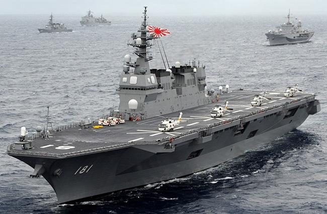 Tàu chiến Izumo (Ảnh:
