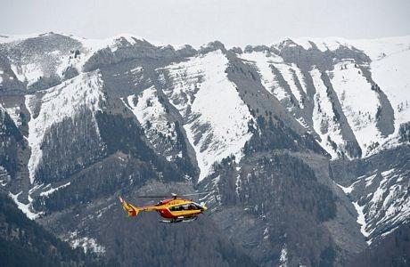 Hiện trường vụ tai nạn thuộc dãy núi An-pơ thuộc lãnh thổ Pháp.