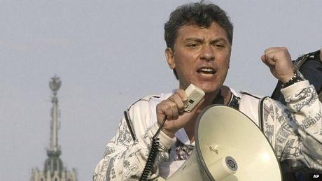 Chính trị gia đối lập Boris Nemtsov (Ảnh: