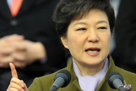 Tổng thống Park Geun Hye (Ảnh: Yonhap)