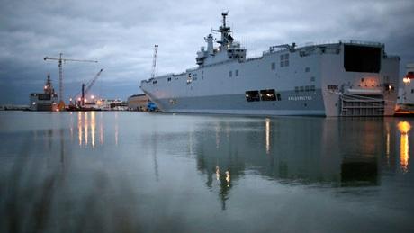 Tàu Mistral (Ảnh: