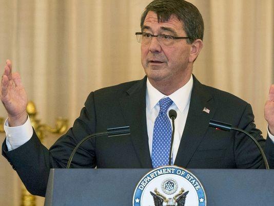 Bộ trưởng quốc phòng Mỹ Ash Carter (Ảnh: Defense)