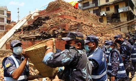 Nepal tiếp tục hứng chịu trận động đất mới (Ảnh: