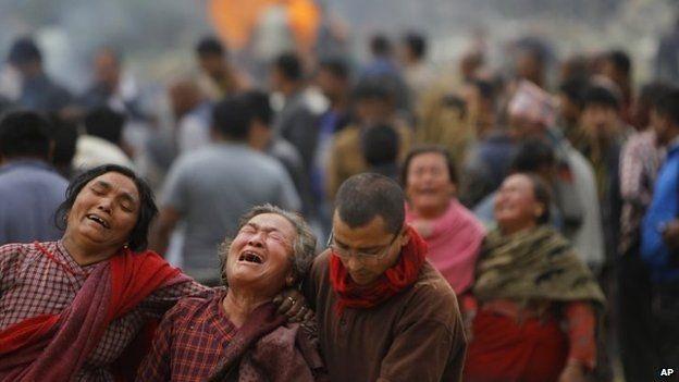 Tính đến nay đã có 3.700 người chết trong động đất tại Nepal. (Ảnh: