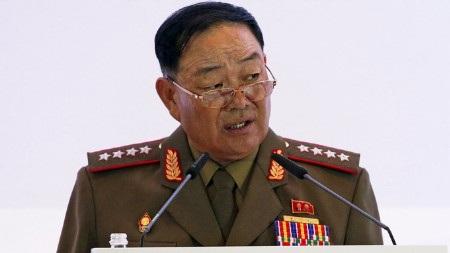 Bộ trưởng Hyon Yong Chol (Ảnh: