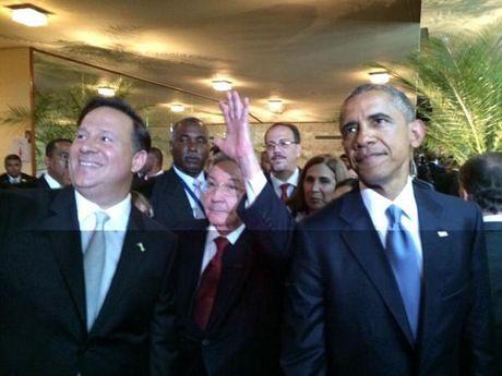 Chủ tịch Cuba và Tổng thống Obama nhận được sự quan tâm đặc biệt của báo giới.