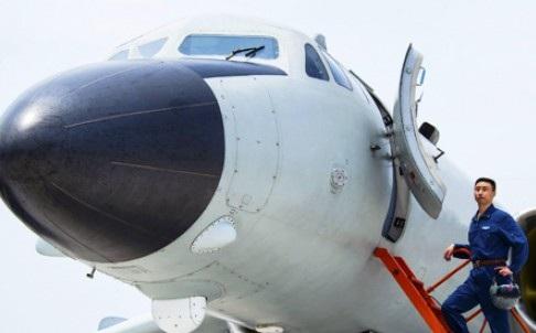 Máy bay của Không quân Trung Quốc (Ảnh SCMP)