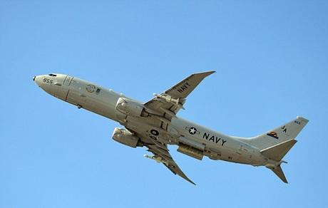 Một máy bay do thám hiện đại P8-A Poseidon của hải quân Mỹ (Ảnh: