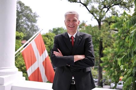 Đại sứ Đan Mạch tại Việt Nam John Nielsen sẽ kết thúc nhiệm kỳ 5 năm vào tháng 6 tới