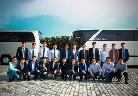 Các sinh viên Việt Nam học tập tại Đại học Dầu khí Quốc gia Azerbaijan
