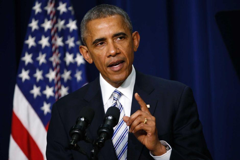 Tổng thống Mỹ Barack Obama (Ảnh: