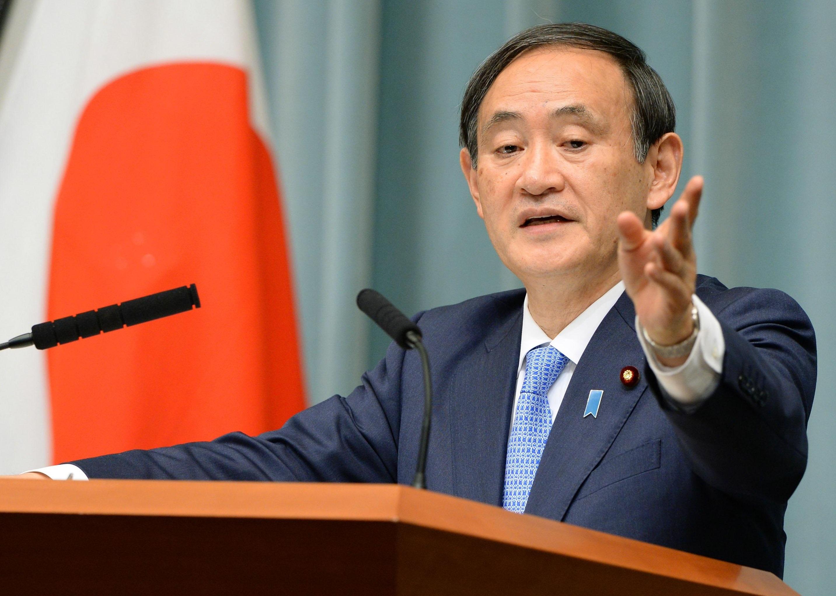 Chánh văn phòng nội các Nhật Bản Yoshihide Suga (Ảnh: