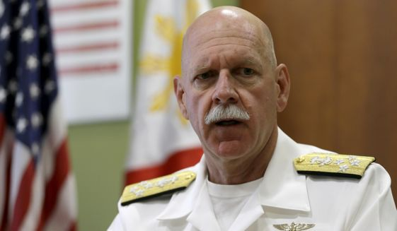 Tư lệnh Hạm đội Thái Bình Dương của Mỹ, Đô đốc Scott Swift (Ảnh: