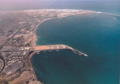 Cảng Chabahar ở đông nam Iran (Ảnh: