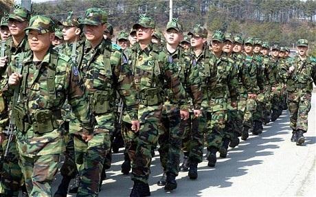 Các sỹ quan quân đội Hàn Quốc. (Ảnh minh họa:
