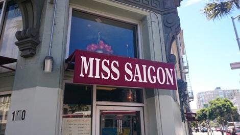 Miss Saigon - một quán ăn của người Việt được nhiều người biết đến ở San Francisco