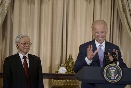 Phó Tổng thống Biden...