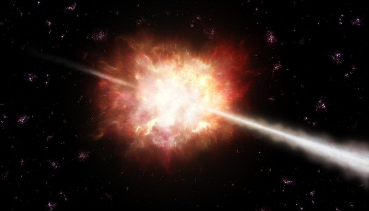 Vụ nổ tia gamma (hay còn gọi là GRB) là một trong những hiện tượng kỳ thú và dữ dội nhất trong vũ trụ. Nó được giải thích ngắn ngọn là những vụ nổ của bức xạ điện từ có tần số cao.
