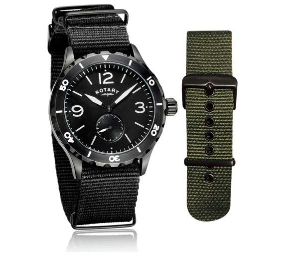 Đồng hồ Rotary Mens Utilitarian - Giá gốc £159.99 nay giảm còn £89.99 vào ngày Black Friday (tiết kiệm 44%) đối với hệ thống bán lẻ Argos