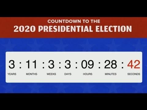 Đoạn video đếm ngược thời gian tới cuộc bầu cử tổng thống 2020 sẽ diễn sau trong 4 năm nữa của BuzzFeed, thu hút 51 triệu lượt người xem.