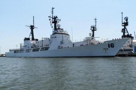 Chiến hạm BRP Ramon Alcaraz - ảnh: Inquirer