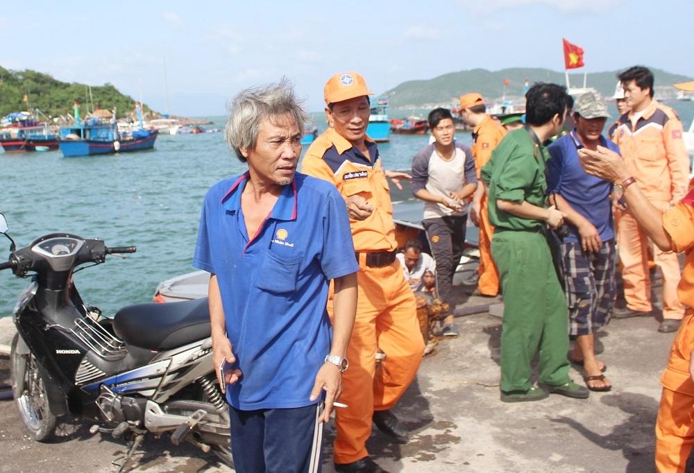 12 ngư dân Bình Định về Nha Trang an toàn, sức khỏe ổn định