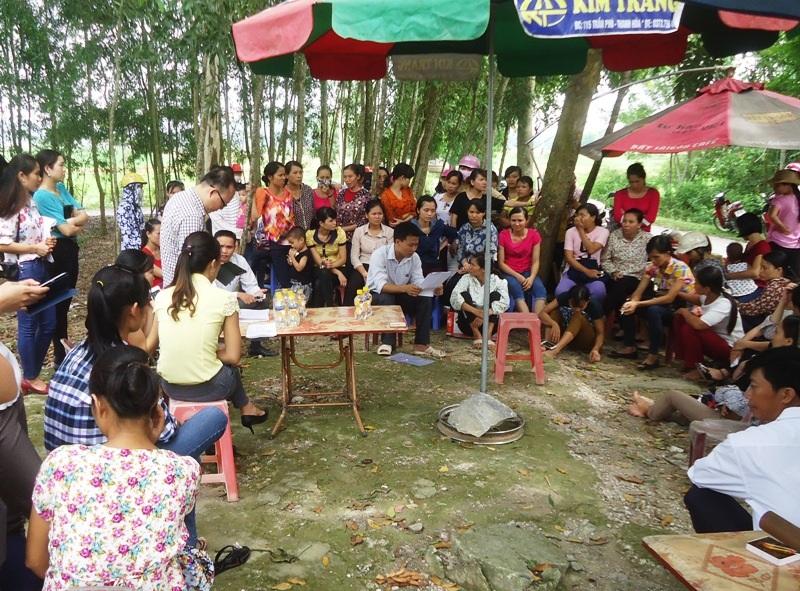 Giáo viên bất ngờ trước thông báo của UBND huyện Vĩnh Lộc