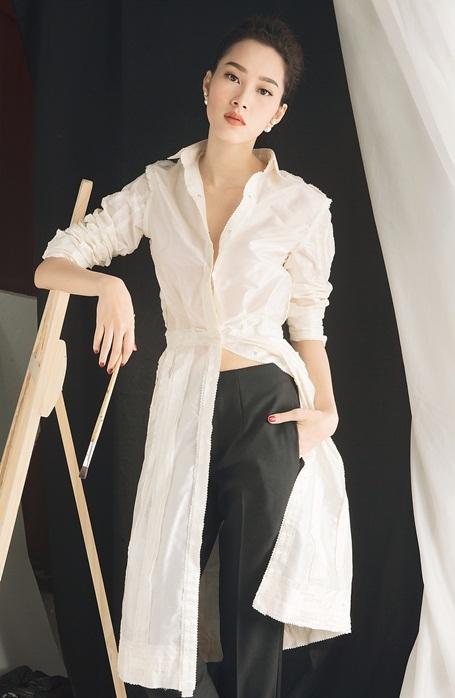 Hoa hậu Đặng Thu Thảo lột xác với hình ảnh gợi cảm - 5