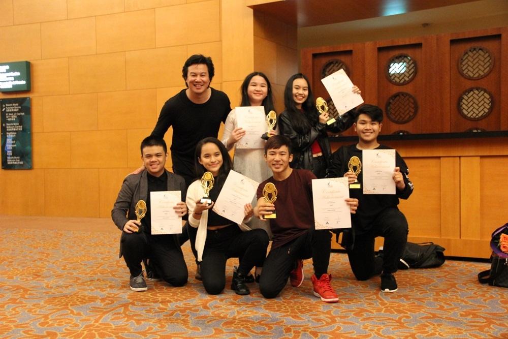 """Các """"con"""" Thanh Bùi đạt giải vàng chương trình nghệ thuật châu Á - Ảnh 4."""