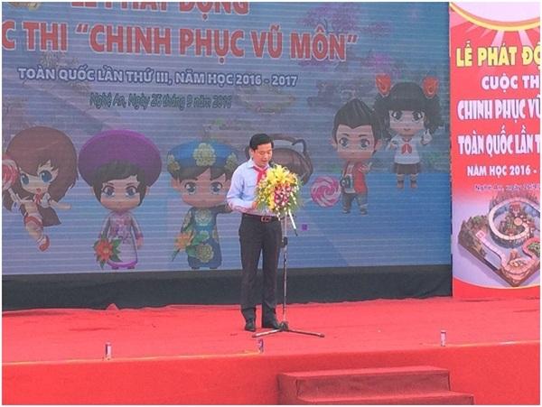 Ông Nguyễn Long Hải – Bí thư Ban Chấp hành Trung ương Đoàn, Chủ tịch Hội đồng Đội Trung ương, Trưởng Ban chỉ đạo Cuộc thi.