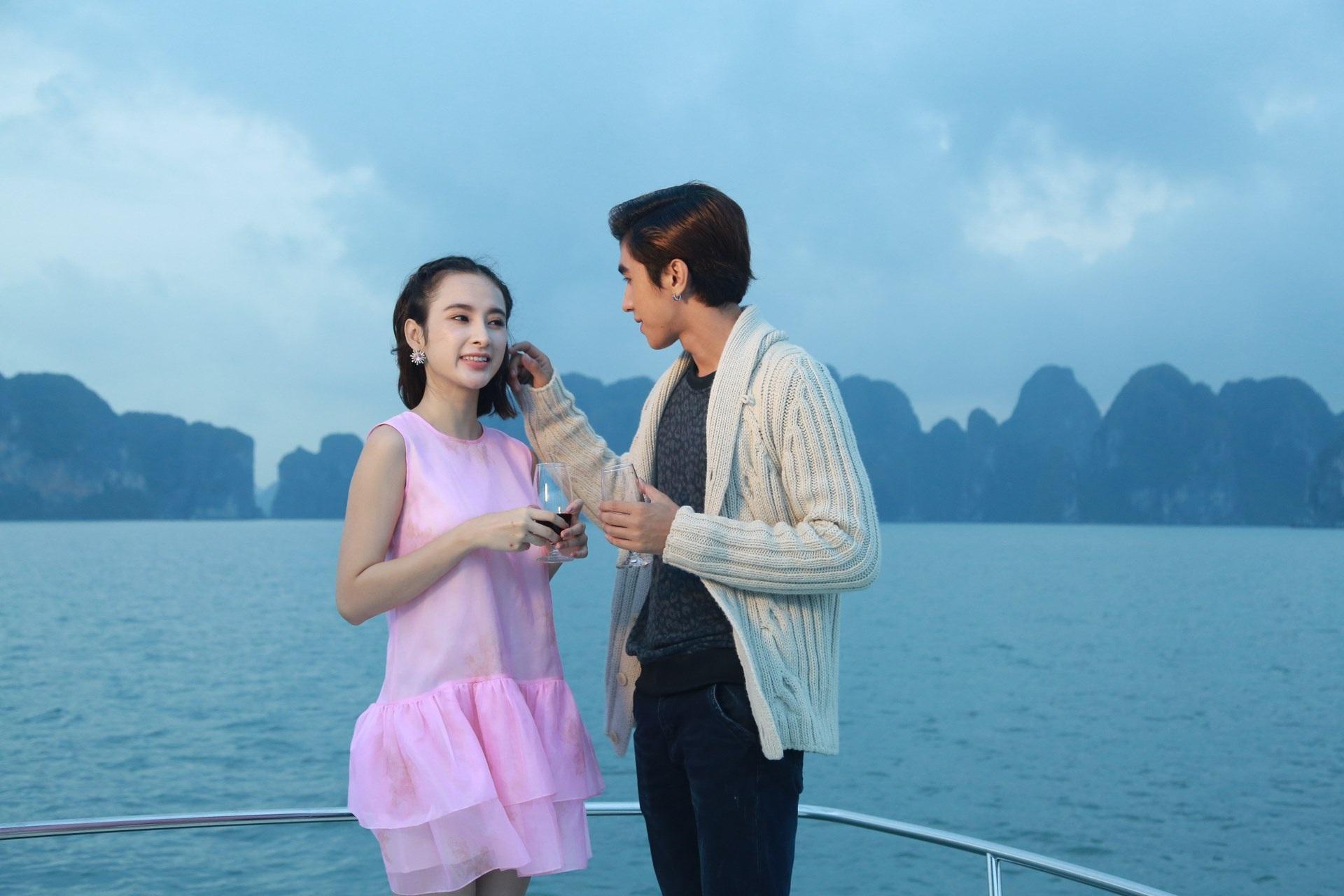 Những phân cảnh lãng mạn trong phim.