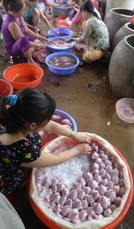 Chợ chuột Phù Dật ở xã Bình Long, huyện Châu Phú (An Giang) - chợ chuột lớn nhất miền Tây -