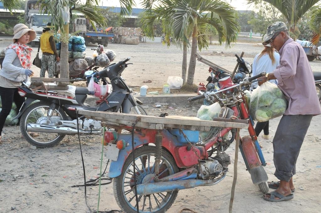 Những chiếc xe máy cũ thế này có khả năng chở từ 400 - 700kg