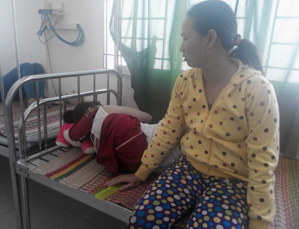 Sáng nay em Ngọc M. đã được các bác sĩ bệnh viện đa khoa Châu Thành cho xuất viện