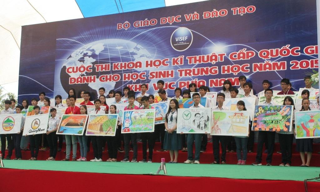 Khai mạc hội thi KHKT dành cho HS trung học khu vực phía Nam