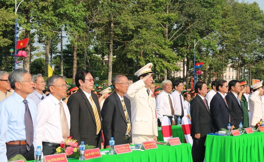 Lãnh đạo các Bộ, ngành Trung ương và địa phương dự lễ kỷ niệm