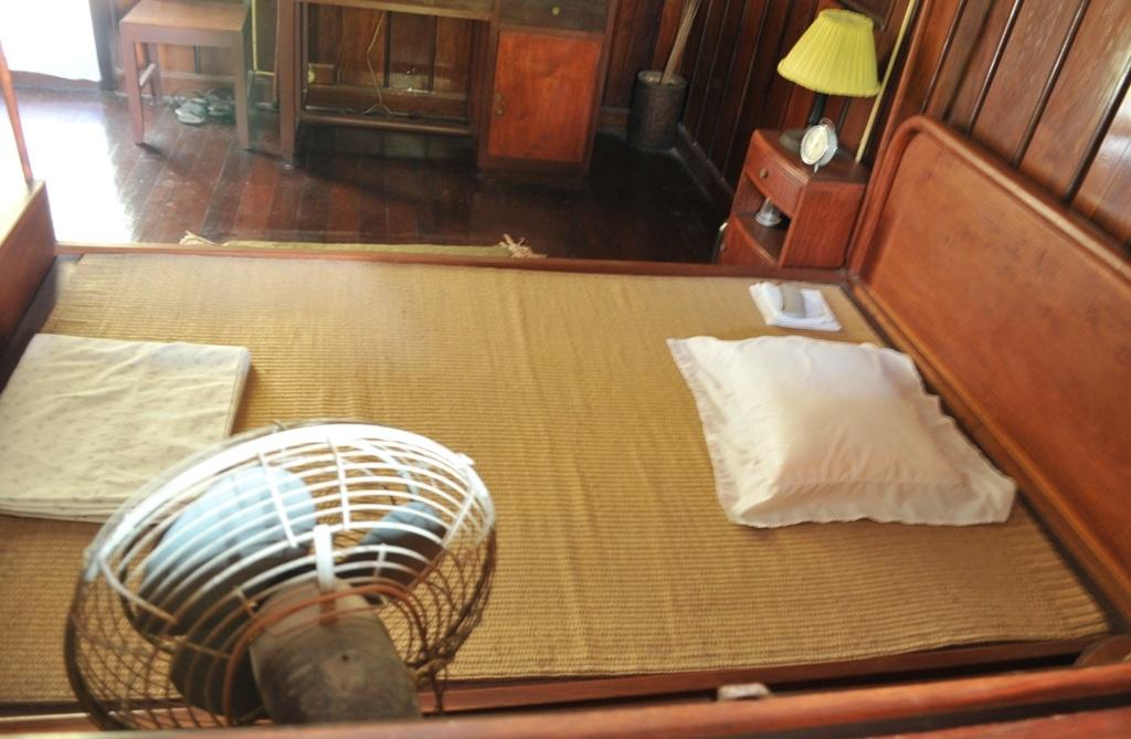 Phòng ngủ giản dị của người.