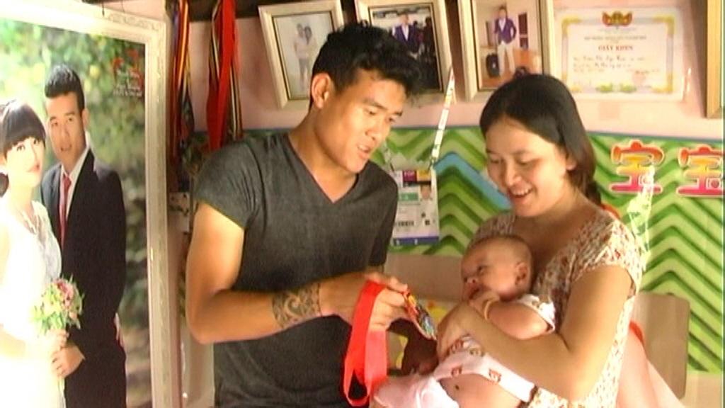 Thời gian về nhà, hầu như Thanh Hiền giành hết cho đứa con trai 3 tháng tuổi