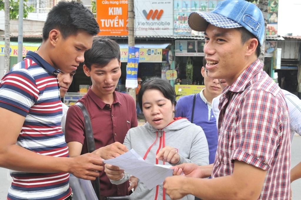 Theo thí sinh Nguyễn Thị Vân Anh thì đề thi này khó hơn đề thi các năm trước