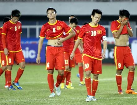 U23 Việt Nam khép lại năm thất bát của bóng đá nội bằng việc bị loại trong ê chề ở SEA Games 27