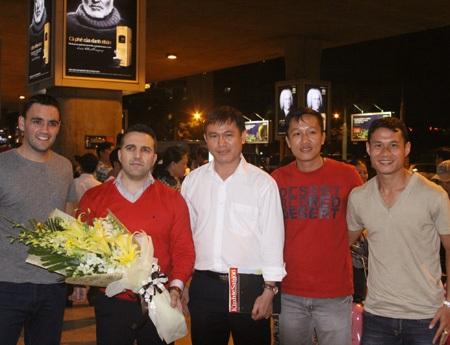 Các thành viên chủ chốt của đội tuyển fusal Việt Nam, ảnh: Trọng Vũ