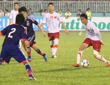 U19 Việt Nam đầy triển vọng, nhưng vẫn còn phải học nhiều để vươn đến tầm châu Á (ảnh: Nguyễn Đình)