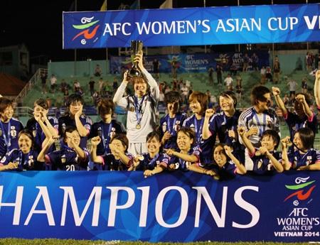 Nhật Bản trở thành tân vương của bóng đá nữ châu Á, ảnh: Kim Điền