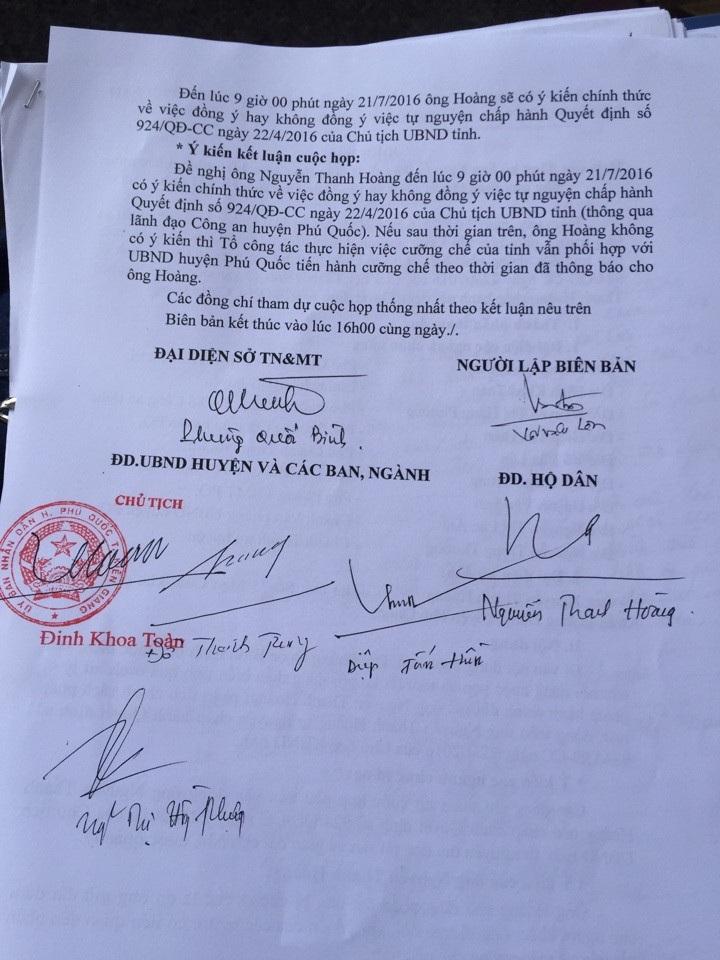 Bài 5: Phớt lờ công văn Chính phủ… Kiên Giang chuẩn bị cưỡng chế lấy đất dân - Ảnh 1.