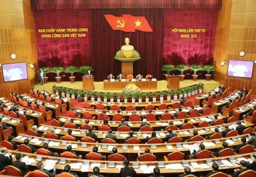 Hội nghị Trung ương 4 dự kiến diễn ra từ 9/10 đến hết ngày 15/10 (ảnh: TTXVN)