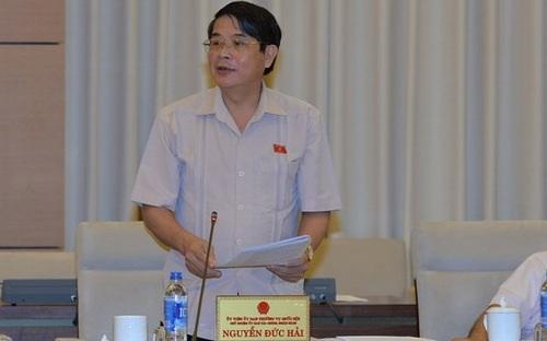 Chủ nhiệm UB Tài chính - Ngân sách Nguyễn Đức Hải nêu nhận định việc đề xuất tăng lương cơ sở lên mức 1,3 triệu đồng/tháng là hợp lý.