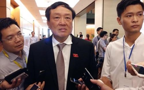 Chánh án Nguyễn Hoà Bình nhấn mạnh quan điểm, không dùng tiền thu từ việc xử lý tội phạm để chi cho bộ máy chống tội phạm.